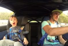 FUNNY VIDEO OF FATHER AND SON DRIFTING! Love #Drifting Check out #DriftSaturday at www.Rvinyl.com every #Saturday!