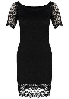 Robes Vero Moda VMBEAUTY - Robe d'été - black noir: 35,00 € chez Zalando (au 08/11/15). Livraison et retours gratuits et service client gratuit au 0800 740 357.