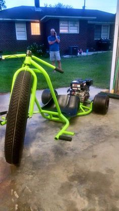Mikes custom drift trikes