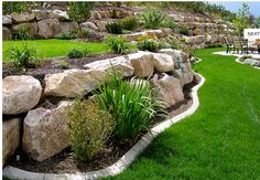 Tips, tricks, including resource beneficial to receiving the most ideal outcome as well as attaining the maximum utilization of Outdoor Landscaping Ideas Landscaping With Boulders, Landscaping Retaining Walls, Hillside Landscaping, Outdoor Landscaping, Front Yard Landscaping, Outdoor Gardens, Landscaping Ideas, Florida Landscaping, Rock Wall Landscape