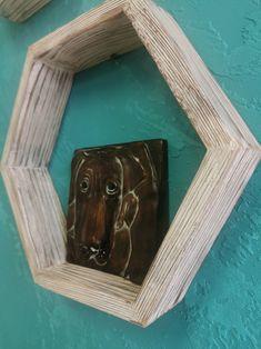 Honeycomb Shelves, Hexagon Shelves, Hanging Canvas, Modern Kitchen Design, Geometric Designs, Artist Canvas, Simple Designs, Floating Shelves, Art Pieces