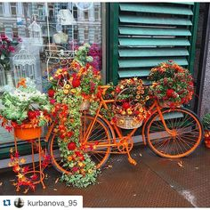fabulous vancouver florist Love this #autumn #flowerbike seen on the streets of Russia. by @postmarkflowers  #vancouverflorist #vancouverflorist #vancouverwedding #vancouverweddingdosanddonts
