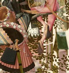 Attributed to Geertgen tot Sint Jans (ca. The Tree of Jesse, c. 1500 (detail) oil on panel, h × w Museum Boijmans Van Beuningen, Rotterdam Tree Of Jesse, Inner World, Medieval Manuscript, 15th Century, Rotterdam, Renaissance, Dutch, Burgundy, Museum