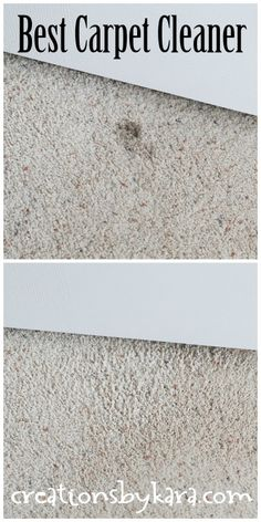 Cleaning Tip-- Best, Cheapest Carpet Spot Remover