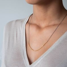 Essential silk Necklace