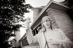 Holy Rosary Catholic Church in Kewaunee, Wisconsin  http://markhawkinsphoto.com