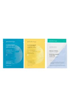 New Patchology Perfect Weekend FlashMasque Facial Sheets beauty makeup perfume. offers on top store How To Remove, How To Apply, Normal Skin, Cosmetic Packaging, Skin Care Regimen, Mask Design, Beauty Makeup, Moisturizer, Luminizer