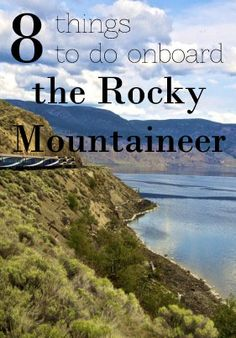 All aboard the most luxurious train in Canada - the Rocky Mountaineer!