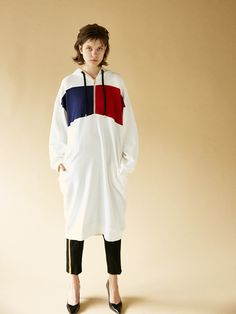 SW BICOLOR HOODIE ワンピース|シェルター公式通販サイト|SHEL'TTER WEB STORE【MOUSSY】