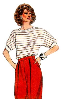 57 Best Vintage 1980 s Sewing Patterns images  068e6bdff