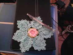 Ravelry: Raindrops and Flower Doily Crochet pattern by Susana Tenorio