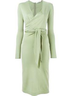 portefeuille ceinture colorimtrie vert maman mode femme robes portefeuille givenchy enveloppements ux designer ui belted wrap