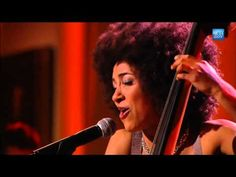 Grammy-winning, multi-talented jazz vocalist/musician, Ms. Spalding, adds her jazzy touch to Stevie Wonder's Overjoyed. He was in the audience, along with President and First Lady Obama.    Esperanza Spalding performs Overjoyed at the Gershwin Prize for Stevie...