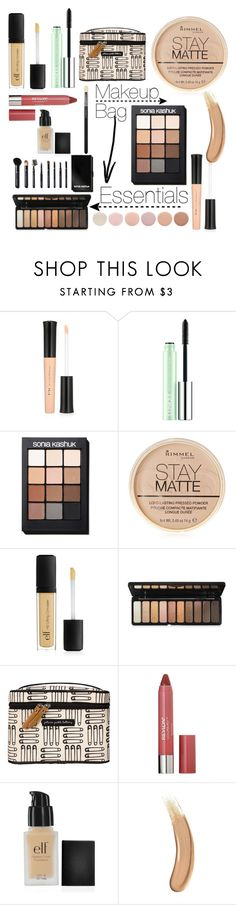 """""""In My Bag"""" by girl-inthe-park ❤ liked on Polyvore featuring beauty, e.l.f., Clinique, Sonia Kashuk, Rimmel, Petunia Pickle Bottom, Revlon, Gucci, Deborah Lippmann and contestentry"""
