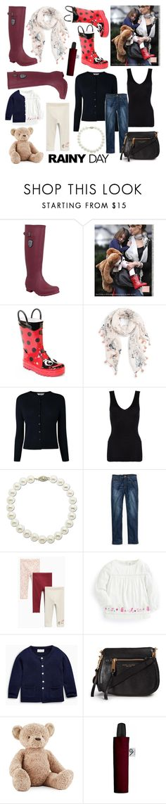 Rainy days are best spent with mummy by andreamilles on Polyvore featuring Hanro, Madewell, Kamik, Marc Jacobs, Lord & Taylor, Caslon, Minimal, KIDORABLE, Jellycat and Disney