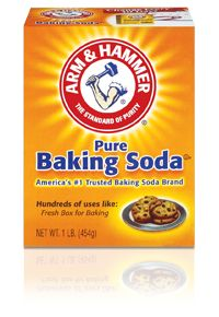 Uses for baking soda: Safe way to scour and clean entire kitchen; Use in laundry;  Use to Brush teeth and wash hair; Sooth stings, bug bites and sun burns; Freshen your fridge; Freshen carpets; Use to make deodorant; Balance the PH in your swimming pool; Clean BBQ grill; Use to strip wallpaper; Removes Rust; Use to extinguish fires; Clean stains from plastic;  Use to clean drains; Clean combs and brushes; Bring sour sponges back to life.