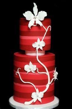 Beautiful red cake--