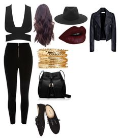 """#66"" by llcriminalmindsll ❤ liked on Polyvore featuring River Island, rag & bone, Balenciaga, Wet Seal and Kate Spade"