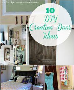 10 DIY Creative Door Ideas