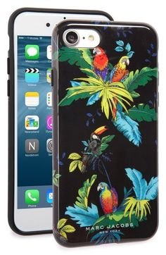 MARC JACOBS Parrot iPhone 7 Case available at #Nordstrom
