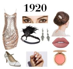 """""""Twenties"""" by fandoms-and-good-music ❤ liked on Polyvore featuring Rainbow Club, Lime Crime and SoGloss"""