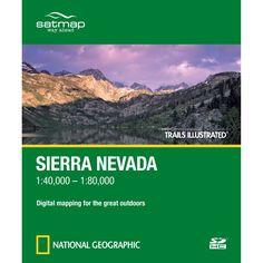 Trails Illustrated SD Card: Sierra Nevada | National Geographic Store