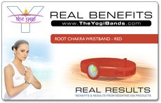 Focus on your Root Chakra for groundedness and safety. This energy develops self-esteem, feelings of security/stability. It is the driving force for survival. www.theyogibands.com