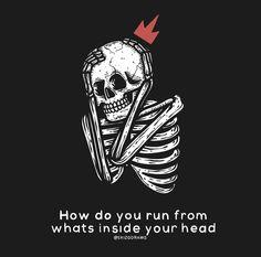 Skull Wallpaper, Mood Wallpaper, Dark Wallpaper, Aesthetic Iphone Wallpaper, Aesthetic Wallpapers, Hipster Drawings, Skeleton Art, Deep Thought Quotes, Alien Art