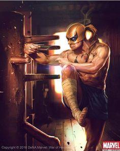 Iron Fist by Denys Tsiperko