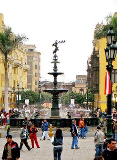 Plaza Mayor - Lima, Peru