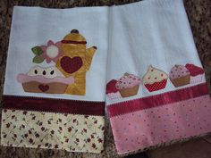 Panos de Prato Sewing Appliques, Applique Patterns, Applique Quilts, Applique Designs, Embroidery Applique, Quilt Patterns, Machine Embroidery, Sewing Crafts, Sewing Projects