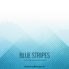 Blue stripes background Free Vector