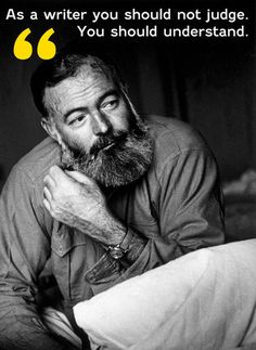 How to Be a Writer: Hemingway