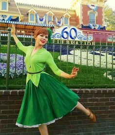 Katie of Quirky Girl Cosplay as Disneybounding as Peter Pan Disney Cosplay, Disney Costumes, Adult Costumes, Disneyland Costumes, Costumes Kids, Mermaid Costumes, Character Inspired Outfits, Disney Inspired Outfits, Disney Style