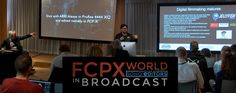 We continue to publish the videos from The FCPX World event at IBC. And we start off with two highly...