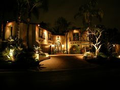 Shading-MoonLighting #LandscapeLighting by www.Artisticillumination.com The Best in Landscape Lighting