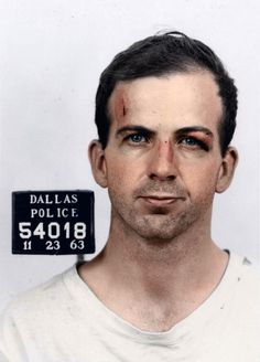 """The 9 men who have done the most to damage this country in my lifetime.  #1 - Lee Harvey Oswald, November 1963.  Assassin of President John F. Kennedy.  Said that he was """"just a patsy."""""""