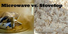 Simple Health Swaps: Dangerous Microwave popcorn for stovetop