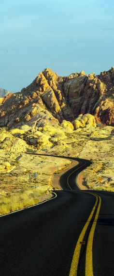 Scenic Valley of Fire, Nevada   |    23 Roads you Have to Drive in Your Lifetime