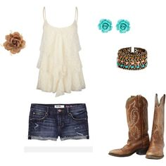 country summer, created by jenfer30