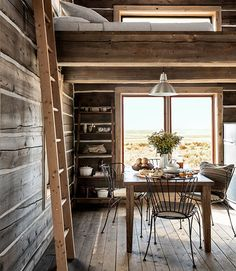 how they live: rustic idaho cabin