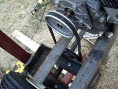 ▶ Homemade sawmill - YouTube