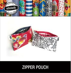 Easy DIY for a great bag    DIY Zipper Pouch Kit