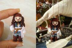 Jack Sparrow by LisaCreations.deviantart.com on @deviantART
