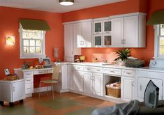 Wall Kitchen Color Schemes With White Cabinets Best Makeovers For Orange. Kitchen Gallery at Orange Kitchen Cabinets Laundry Craft Rooms, Country Laundry Rooms, Modern Laundry Rooms, Large Laundry Rooms, Laundry Room Cabinets, Kitchen Cabinet Colors, Laundry Room Design, Kitchen Cabinets, Small Laundry