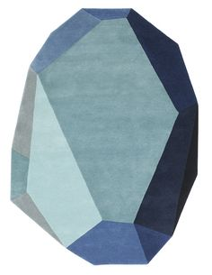 Normann Copenhagen, Gem carpet, by Anne Lehmann
