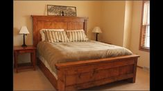 good chunky wooden bed 91 about remodel home remodel design with chunky wooden bed. awesome home interior paint ideas victorian exquisite design of brown wall color and dark luxury wooden bed frame… Simple Wood Bed Frame, Wooden Bed Frames, Wood Beds, Wooden Headboards, Platform Bed With Drawers, Platform Bed Frame, Wooden King Size Bed, Cama King, Diy Pallet Bed