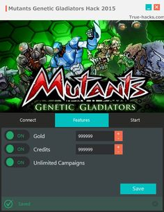 Mutants Genetic Gladiators Hack 2015 (iOS, Android, Mac) Free Unlimited Credits…