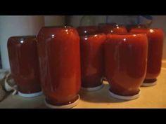 Πώς να φτιάξεις σάλτσα ντομάτας - Κονσέρβα στο σπίτι - YouTube