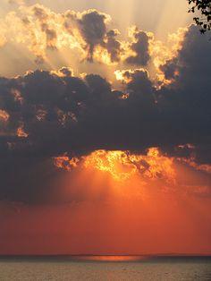 Sunrise in Paradise on Lake Superior